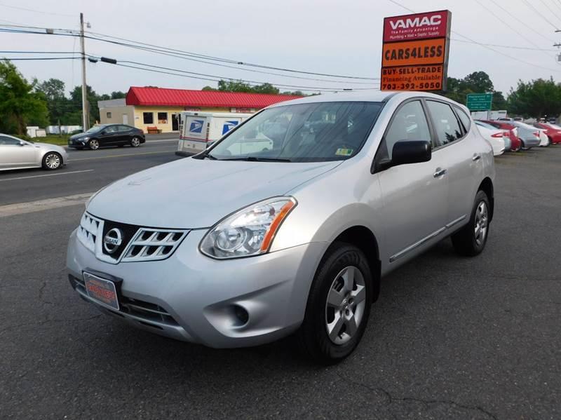 2013 Nissan Rogue AWD S 4dr Crossover In Manassas VA - Cars 4 Less