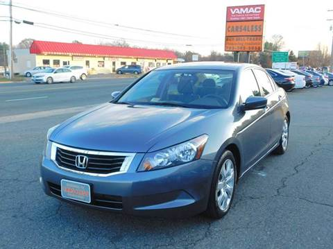 2010 Honda Accord for sale in Manassas, VA