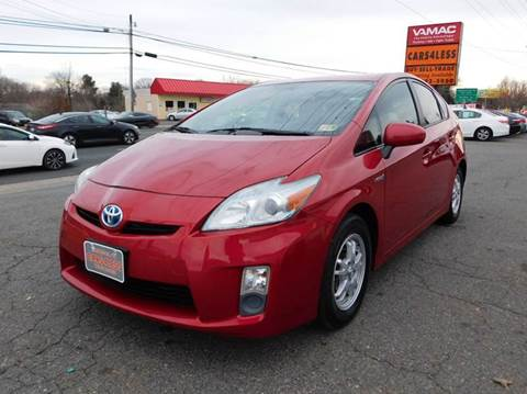 used 2010 toyota prius for sale in virginia. Black Bedroom Furniture Sets. Home Design Ideas