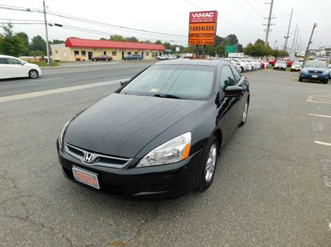 2007 Honda Accord for sale in Manassas, VA