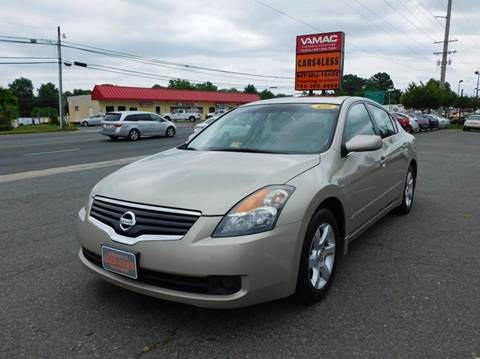 2009 Nissan Altima for sale in Manassas, VA
