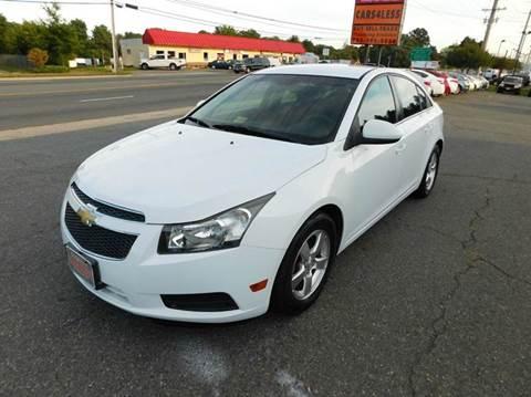 2011 Chevrolet Cruze for sale in Manassas, VA