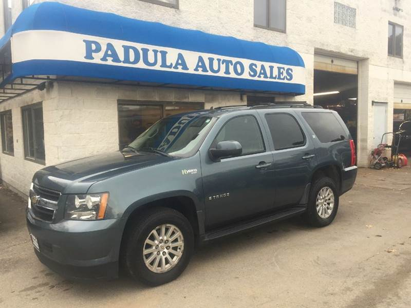 2009 chevrolet tahoe 4x4 hybrid 4dr suv in braintree ma padula auto sales. Black Bedroom Furniture Sets. Home Design Ideas