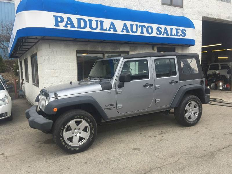 2013 Jeep Wrangler Unlimited 4x4 Sport 4dr SUV - Braintree MA