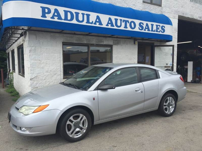 2004 Saturn Ion 3 4dr Coupe In Braintree Ma Padula Auto