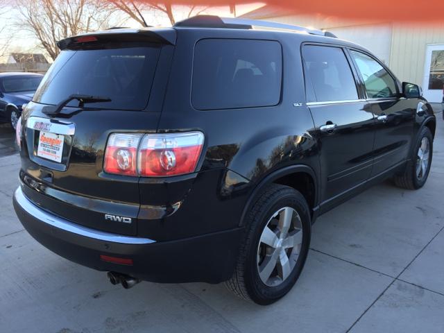 2010 gmc acadia slt 1 awd 4dr suv in glidden ia spangler automotive. Black Bedroom Furniture Sets. Home Design Ideas