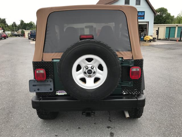 1999 Jeep Wrangler SE 2dr 4WD SUV - Waynesboro PA