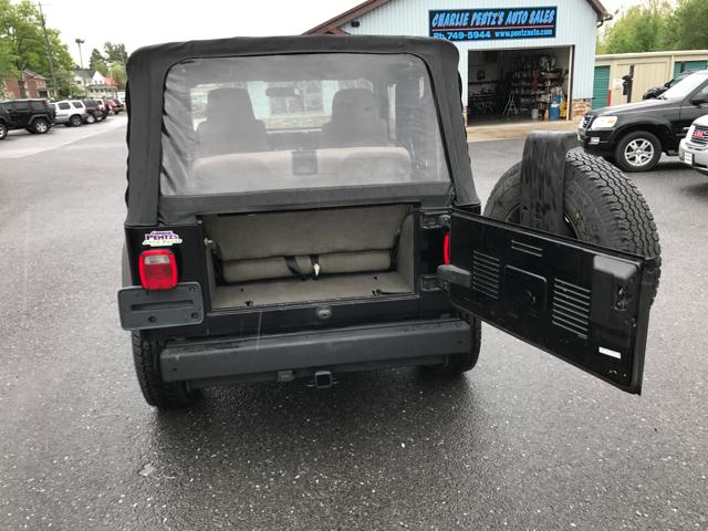 2006 Jeep Wrangler SE 2dr SUV 4WD - Waynesboro PA