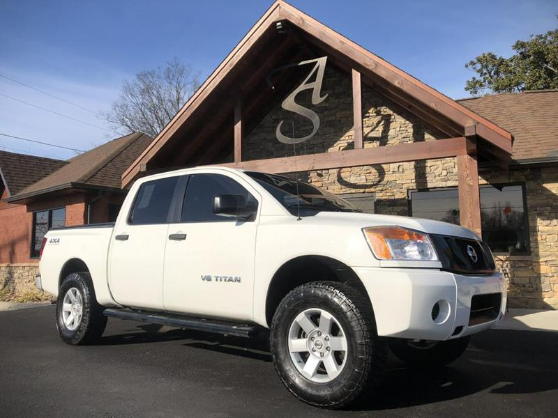 Auto Solutions Maryville Tn >> 2010 Nissan Titan 4x4 Xe 4dr Crew Cab Swb Pickup In Maryville Tn