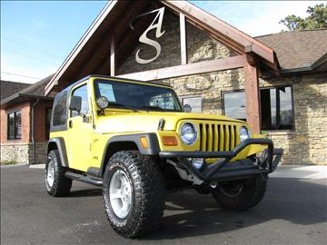 2002 Jeep Wrangler for sale in Maryville, TN