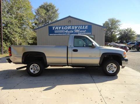 2001 GMC Sierra 2500HD for sale in Taylorsville, NC