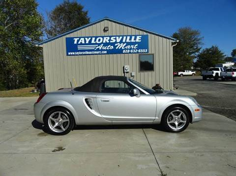 2003 Toyota MR2 Spyder for sale in Taylorsville, NC