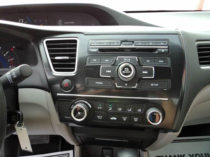 2013 Honda Civic LX 4dr Sedan 5A - Lincoln NE
