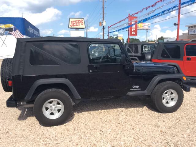 2006 Jeep Wrangler for sale in HOUSTON TX