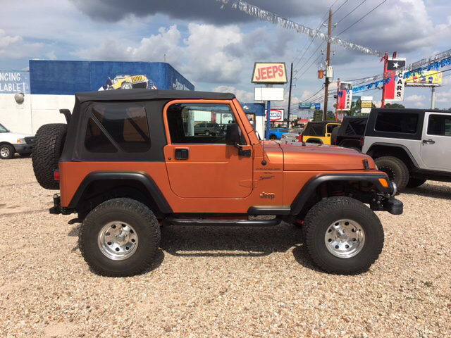 2001 jeep wrangler sport 4wd 2dr suv in houston tx sprauer contact sciox Image collections