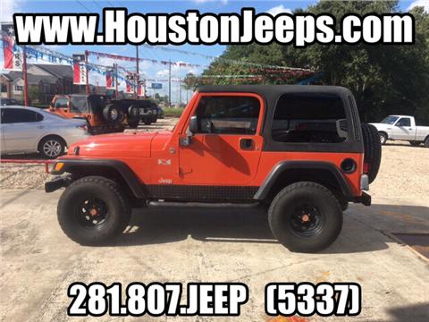 2006 Jeep Wrangler for sale in Houston, TX