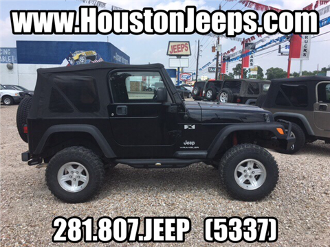 2006 jeep wrangler unlimited for sale houston tx. Black Bedroom Furniture Sets. Home Design Ideas