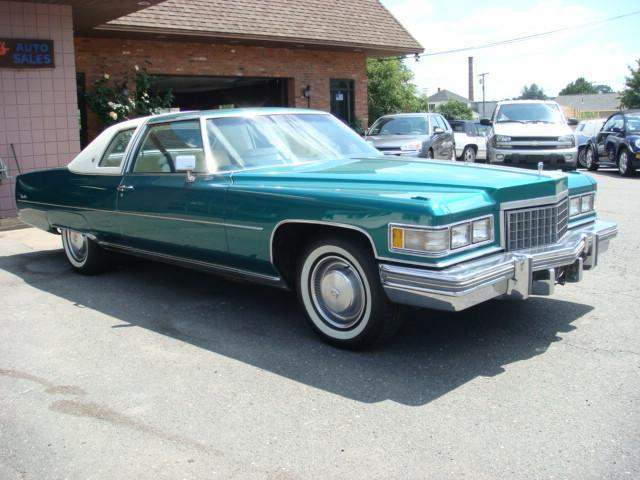 1976 cadillac deville coupe deville in west springfield ma pats auto. Cars Review. Best American Auto & Cars Review