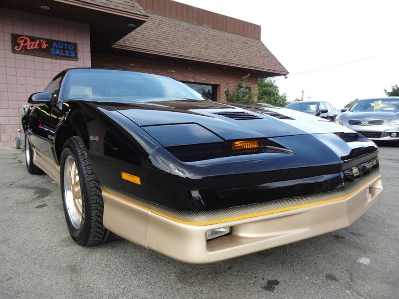 1986 pontiac firebird for sale in west springfield ma for Scranton motors vernon connecticut