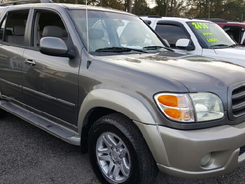 2004 toyota sequoia for sale north charleston sc. Black Bedroom Furniture Sets. Home Design Ideas