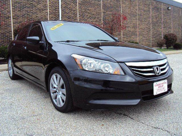 2012 honda accord ex 4dr sedan 5a in cleveland oh classic motor group. Black Bedroom Furniture Sets. Home Design Ideas