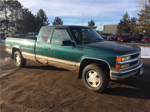 1996 Chevrolet C/K 1500 Series for sale in Little Falls MN