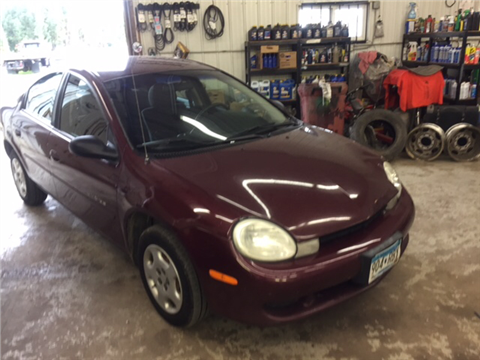 2001 Dodge Neon for sale in Little Falls, MN