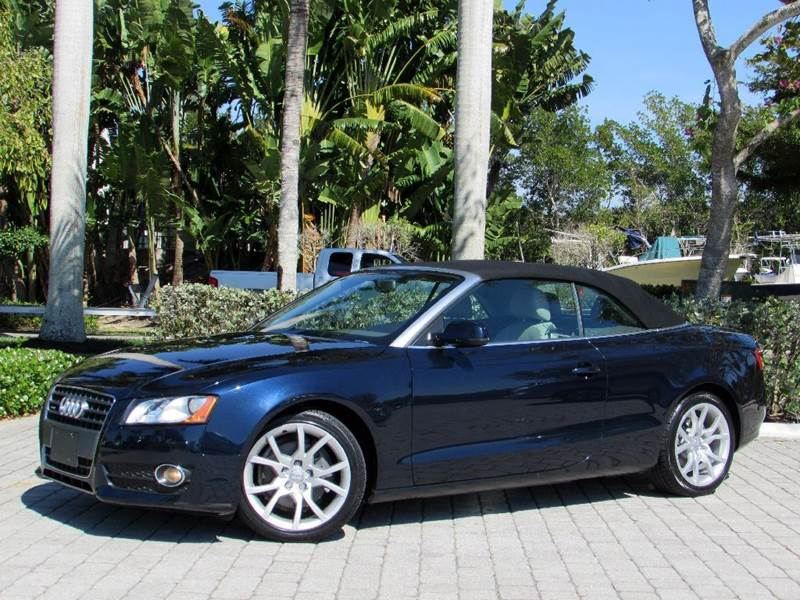 2010 Audi A5 2.0T quattro Premium AWD 2dr Convertible - Fort Myers Beach FL