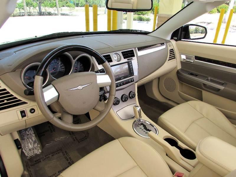 2010 Chrysler Sebring Limited 2dr Convertible - Fort Myers Beach FL