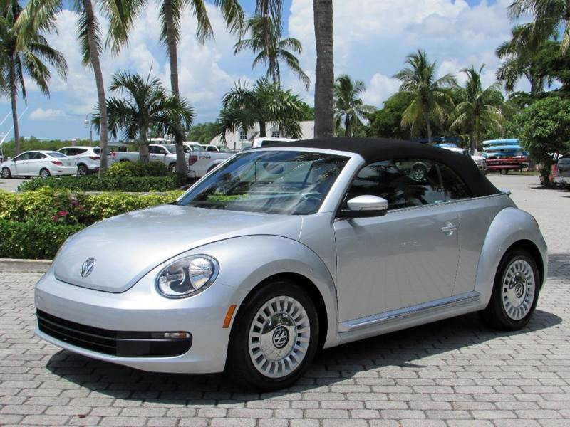 2015 Volkswagen Beetle 1.8T PZEV 2dr Convertible - Fort Myers Beach FL
