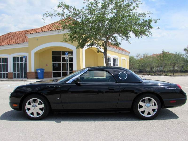 2003 Ford Thunderbird Premium 2dr Convertible w/ Removable Top - Fort Myers Beach FL