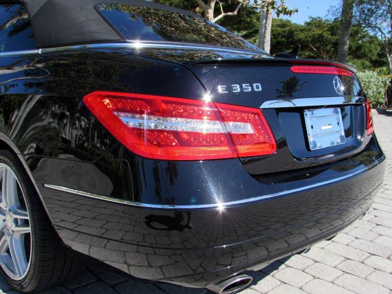 2012 Mercedes-Benz E-Class E 350 2dr Convertible - Fort Myers Beach FL