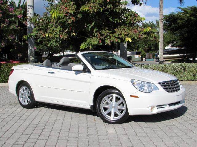 2008 chrysler sebring limited convertible in fort myers beach fl autoquest usa. Black Bedroom Furniture Sets. Home Design Ideas
