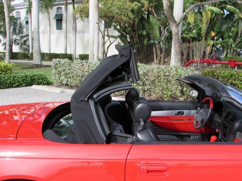 2002 Ford Thunderbird 2dr Convertible - Fort Myers Beach FL