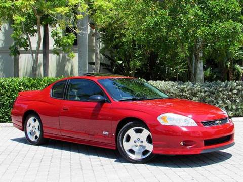 2007 chevrolet monte carlo for sale in florida. Black Bedroom Furniture Sets. Home Design Ideas