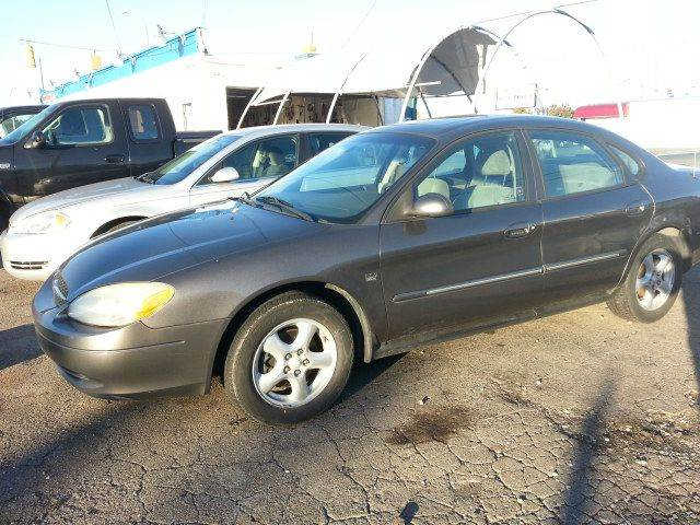 2003 ford taurus sel deluxe 4dr sedan in wayne mi. Black Bedroom Furniture Sets. Home Design Ideas