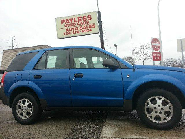 2003 Saturn Vue Awd 4dr Suv V6 In Wayne Mi Payless Used Cars