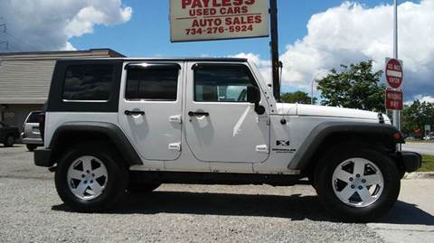 2009 Jeep Wrangler Unlimited for sale in Wayne, MI