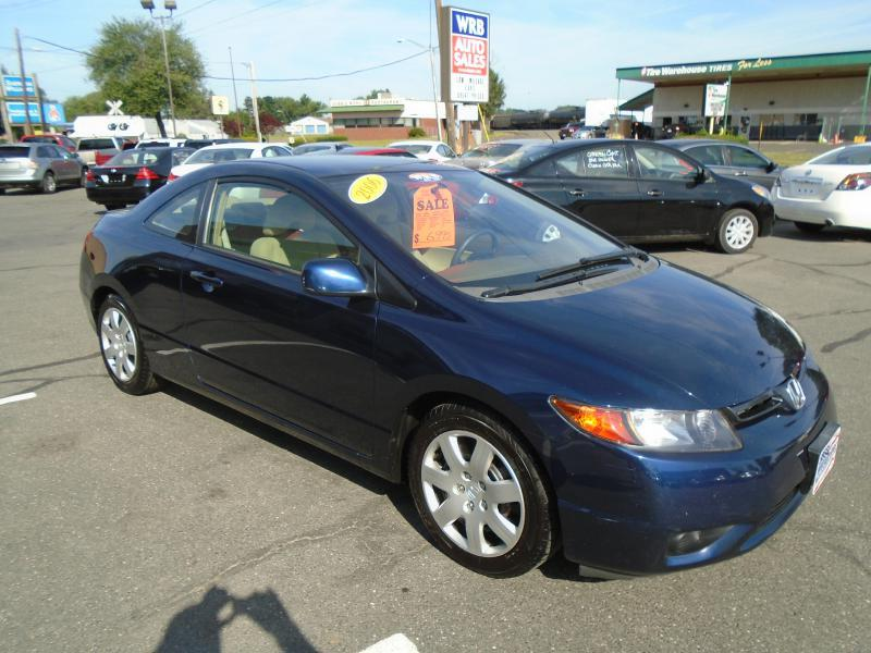 2006 honda civic lx 2dr coupe w manual in west springfield. Black Bedroom Furniture Sets. Home Design Ideas