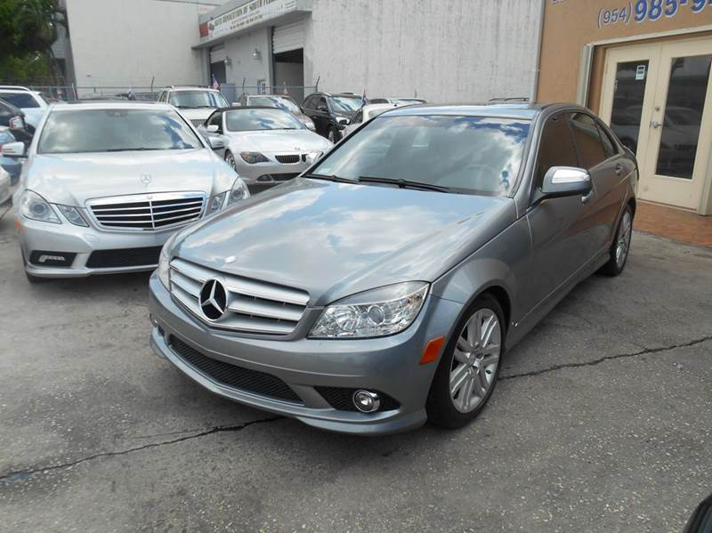 2008 mercedes benz c class c300 luxury 4dr sedan in for Mercedes benz hollywood fl