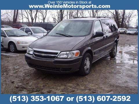 2002 Chevrolet Venture for sale in Cleves, OH