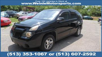 2003 Pontiac Aztek for sale in Cleves, OH