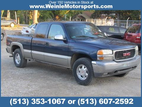 2000 GMC Sierra 1500 for sale in Cleves, OH