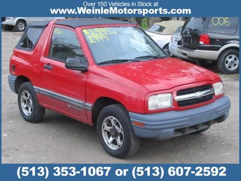1999 Chevrolet Tracker for sale in Cleves, OH