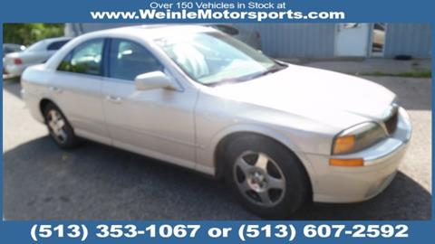 2001 Lincoln LS for sale in Cleves, OH