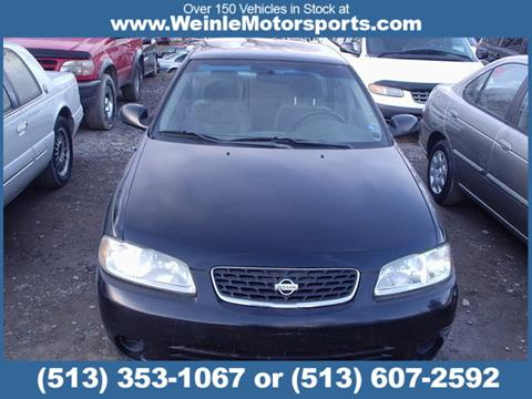 2001 Nissan Sentra for sale in Cleves, OH