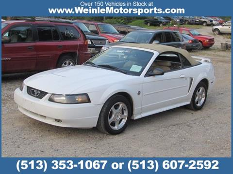 2004 Ford Mustang for sale in Cleves, OH
