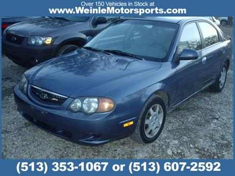 2002 Kia Spectra for sale in Cleves, OH