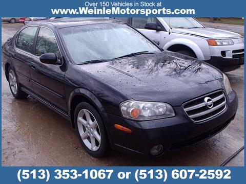 2002 Nissan Maxima for sale in Cleves, OH