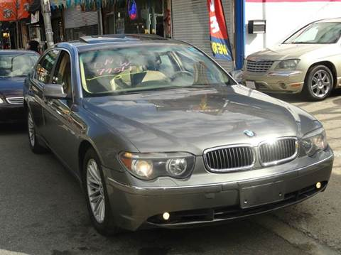 2004 BMW 7 Series for sale in Bronx, NY